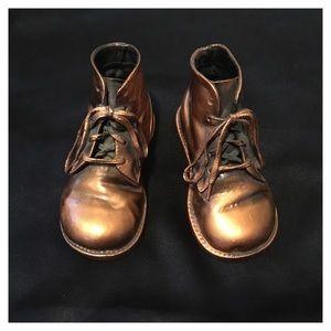 Brass boot ornaments